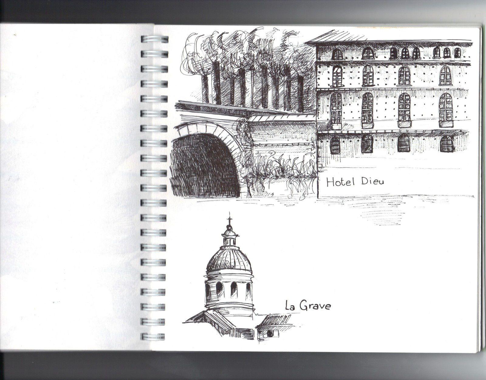 dessins au stylo, 18x18