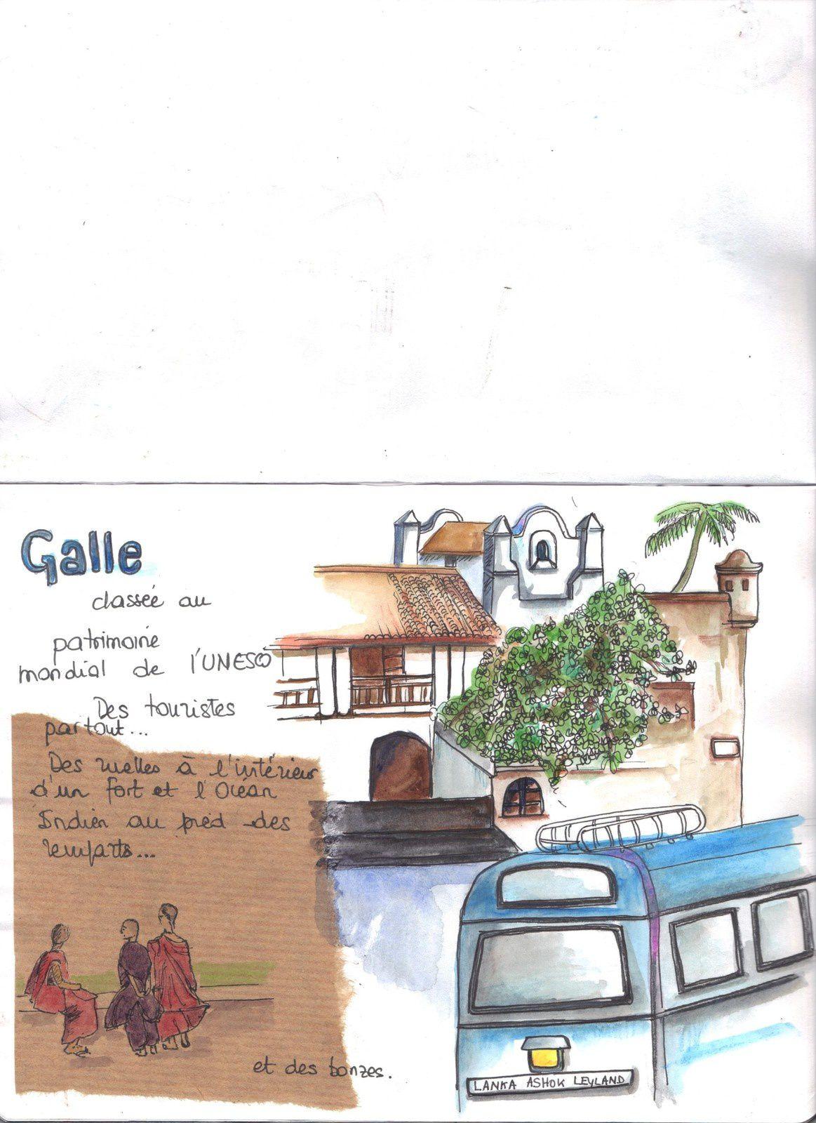 Sri Lanka carnet de croquis 3