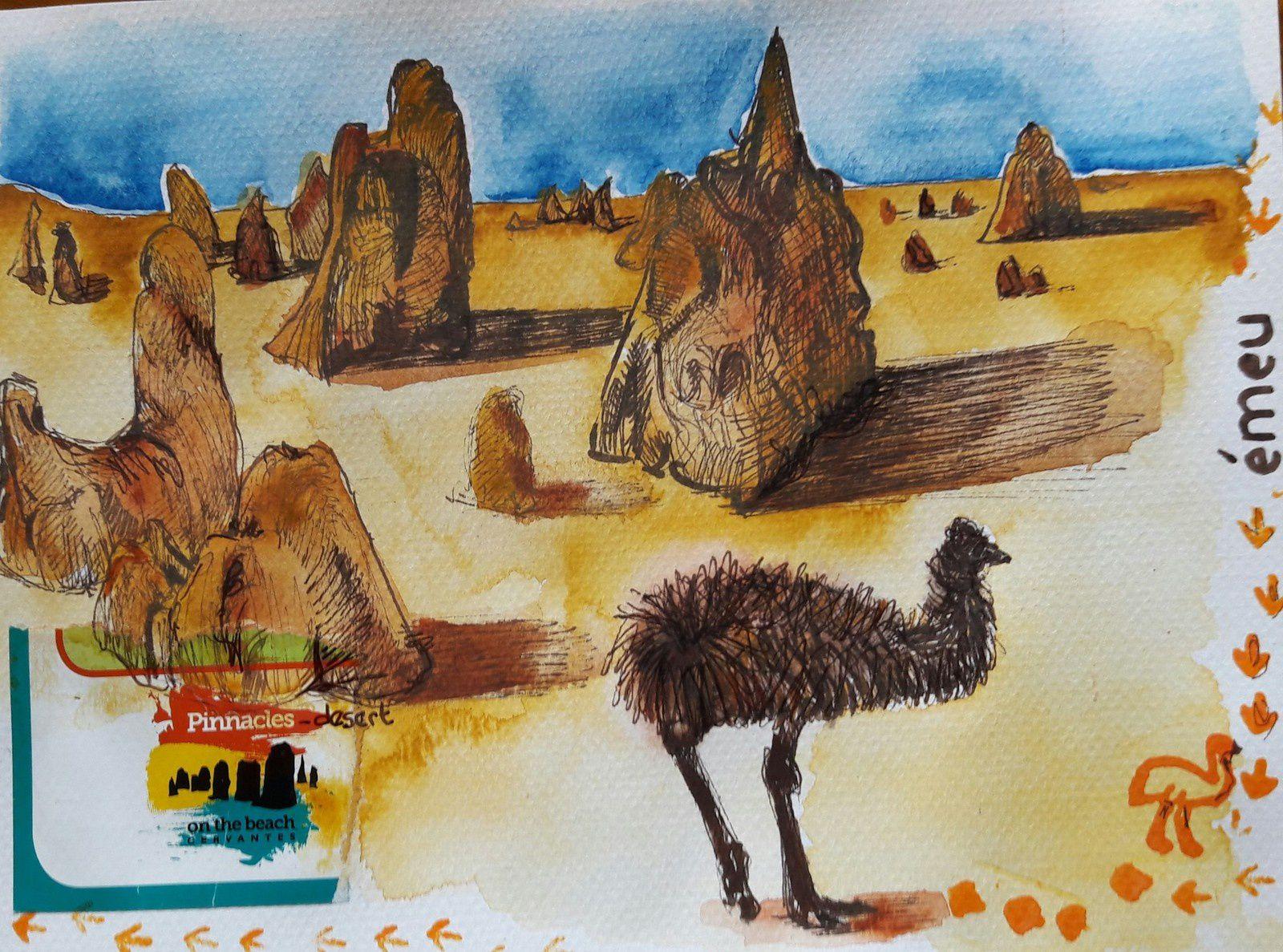 pinacles desert