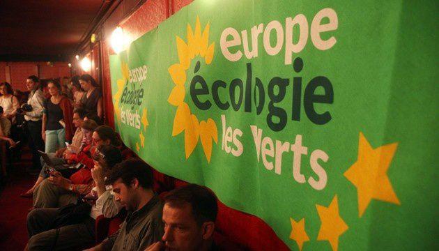 Un meeting Europe Écologie-Les Verts, le 27 mai 2012