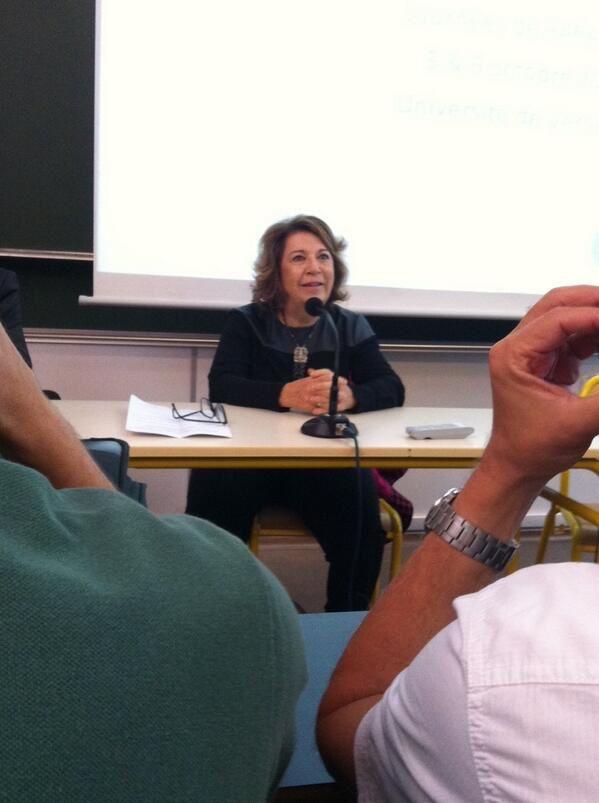 Corinne Lepage déclare l'Université de Rentrée de CAP21 & Rassemeblement Citoyen ouverte