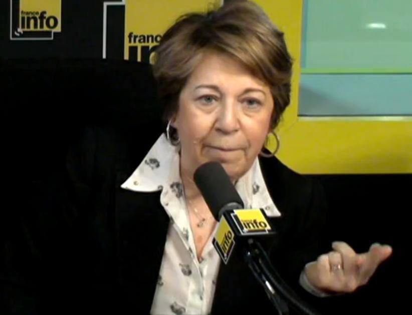 """@Corinne  Lepage : """"le FN, c'est en train de devenir un frein national, moins on en parle, mieux on se porte"""""""
