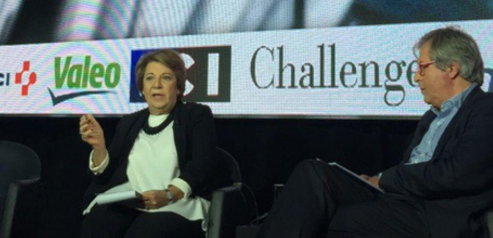 Corinne Lepage au Sommet de l'Economie