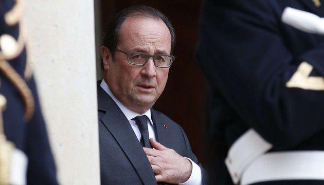 François Hollande à L'Élysée, le 19 novembre 2015.