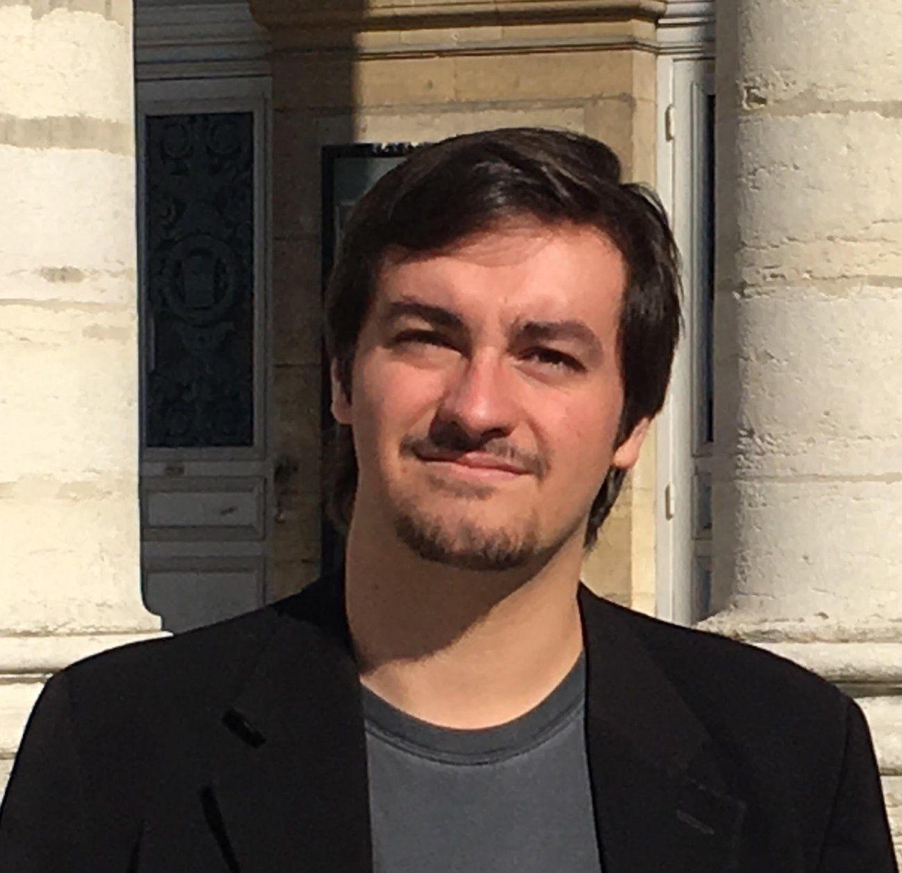 Maxime Bros, Etudiant, Responsable de la Section des Jeunes, membre du bureau régional