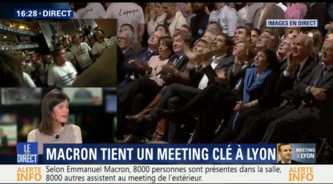 Souvenir de la délégation  qui a participé à #MacronLyon