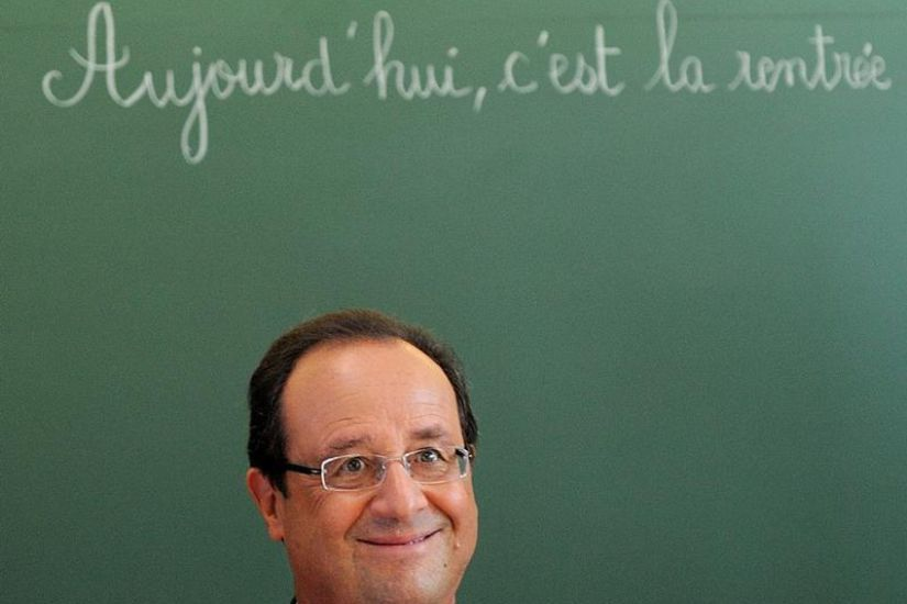 Intervention TV du Président F. Hollande
