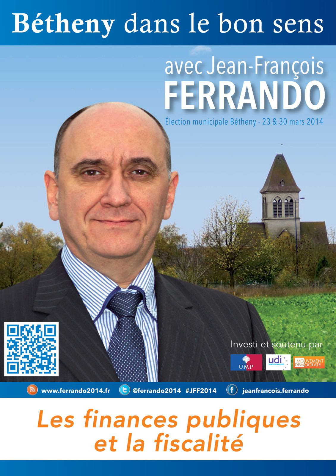 FINANCES FISCALITÉ - Bétheny Municipales 2014