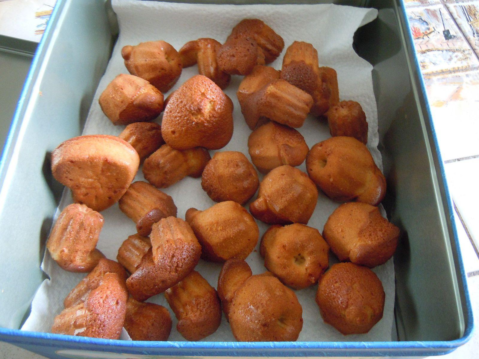 Mini cakes fait pour la visite prévue d'une amie