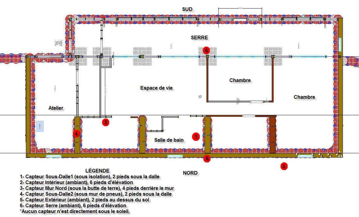 Construction dune maison de pneus en Mauricie - Habitations durable ...