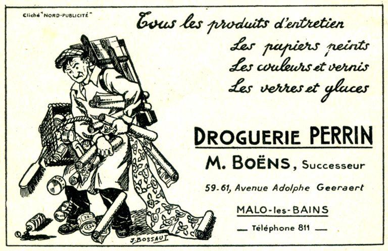 Malo-les-Bains: droguerie Boëns