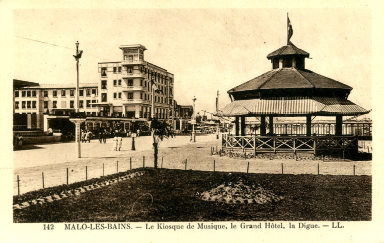 Malo-les-Bains: kiosques à musique