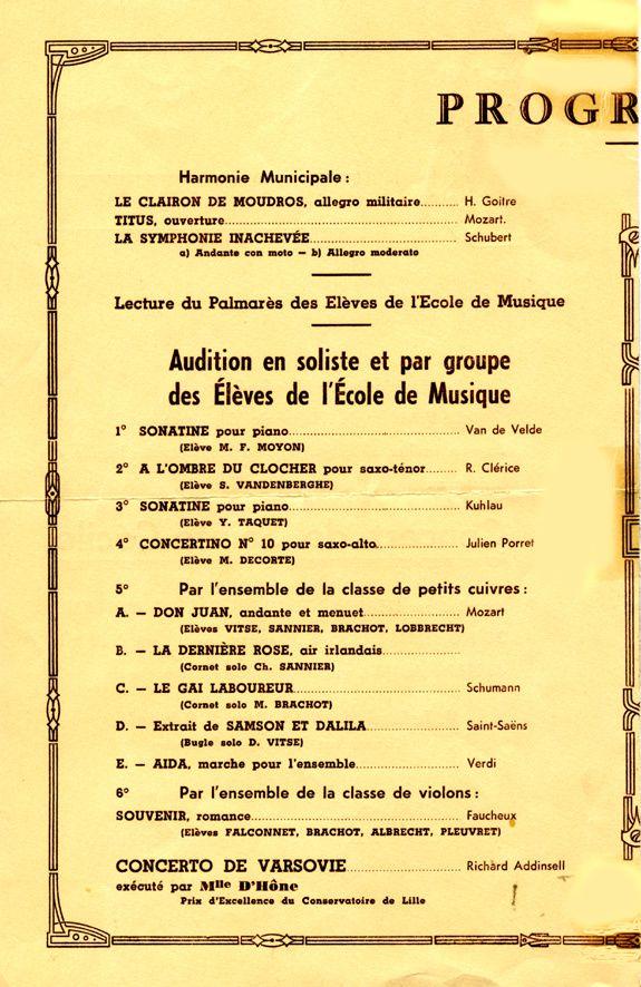 Malo-les-Bains: concerts de Sainte-Cécile