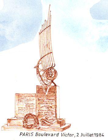 Malo-les-Bains: monument de Guynemer