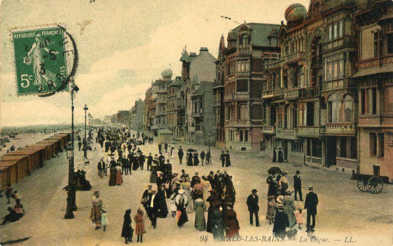 Digue de Malo-les-Bains avant 1940
