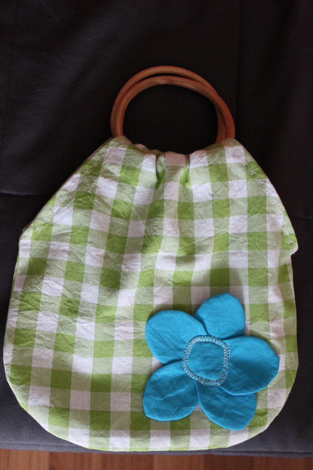 Le sac à fleurs