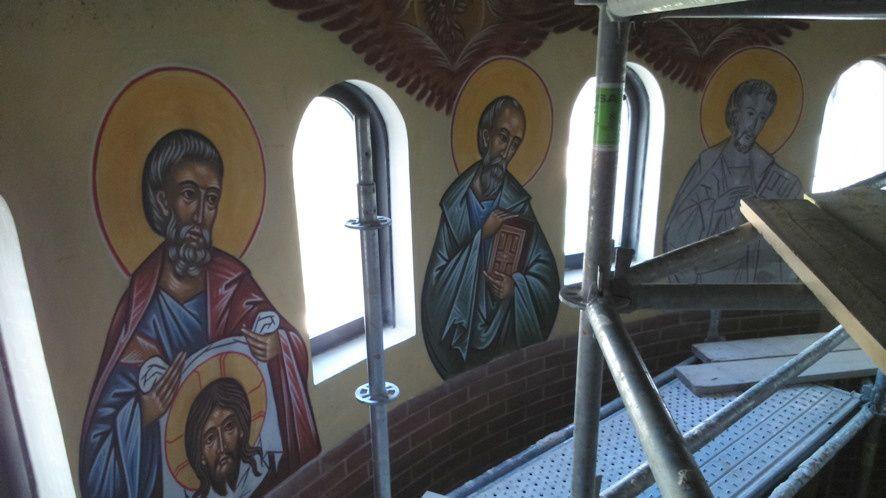 Eglise St Thomas de Sarcelles, suite de la décoration.