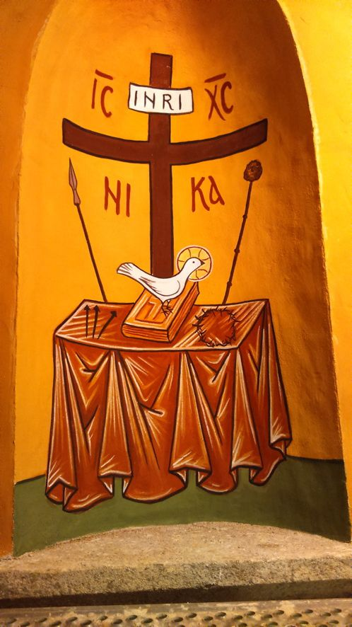 Fresque de l'église de Tastavy (Tarn)