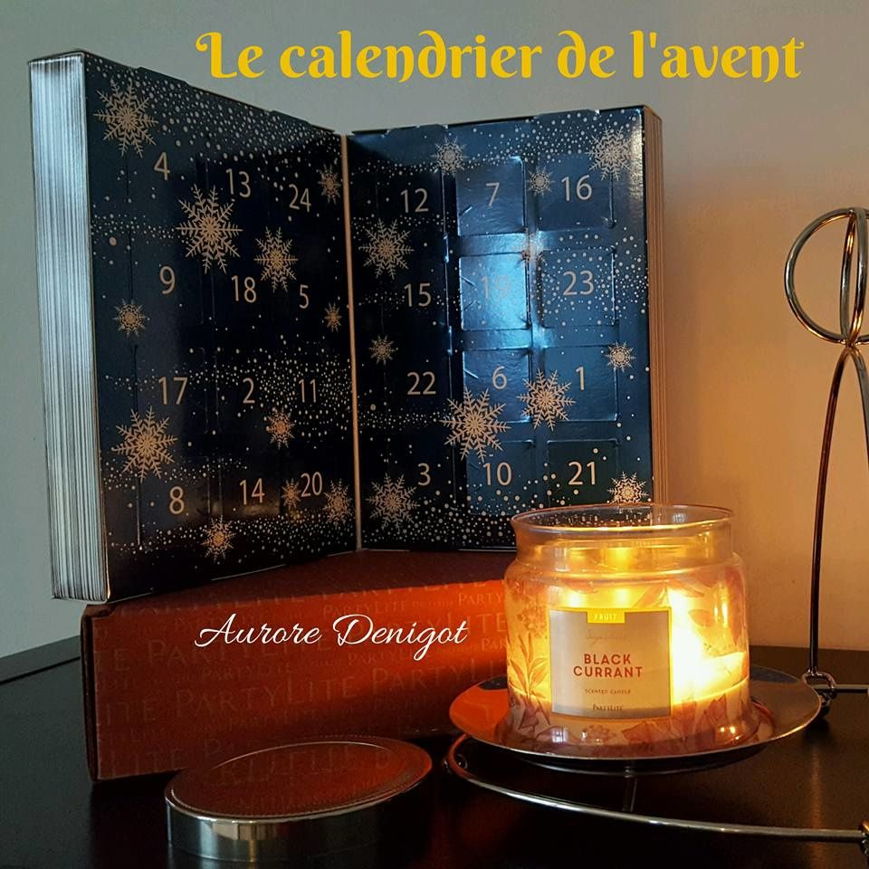 le calendrier de l 39 avent partylite est disponible les bougies et la d co partylite d 39 aurore. Black Bedroom Furniture Sets. Home Design Ideas