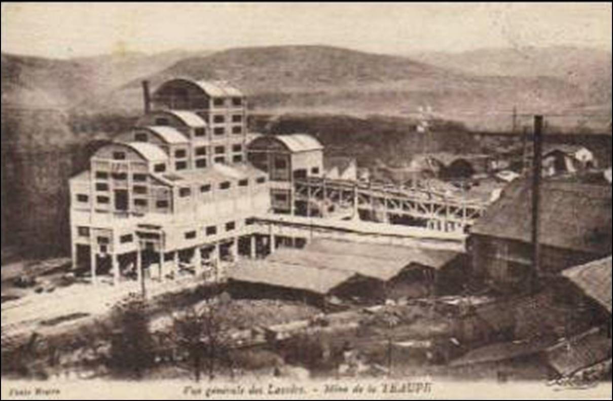 Les mines du bassin de Brassac: La Taupe