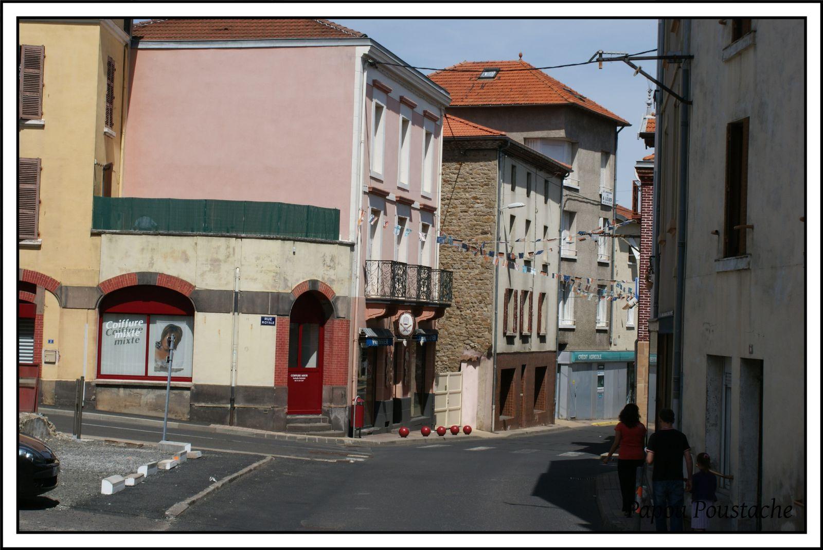 Ste Florine -la grande rue -rue Royale-