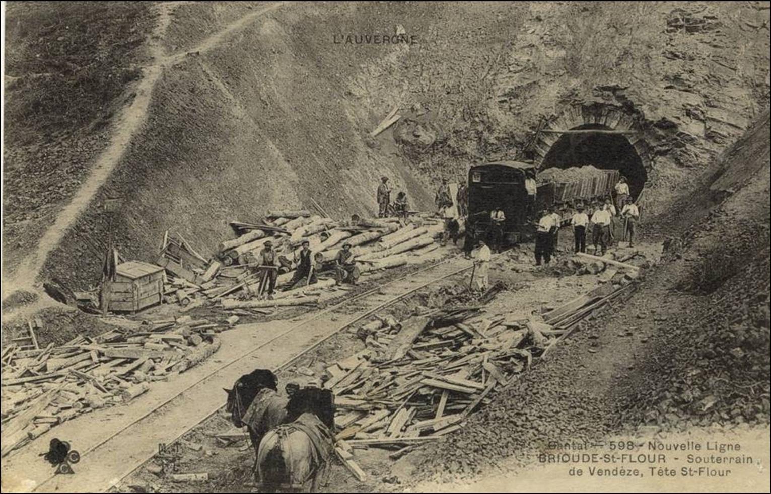 Les travaux de 1907 à 1910