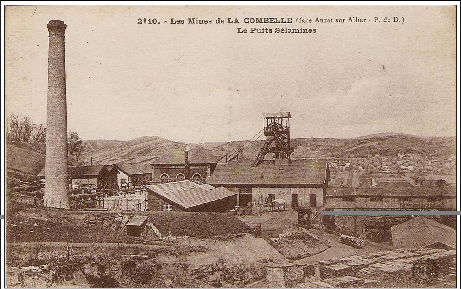 Les mines du bassin de Brassac:  La Combelle-Bayard