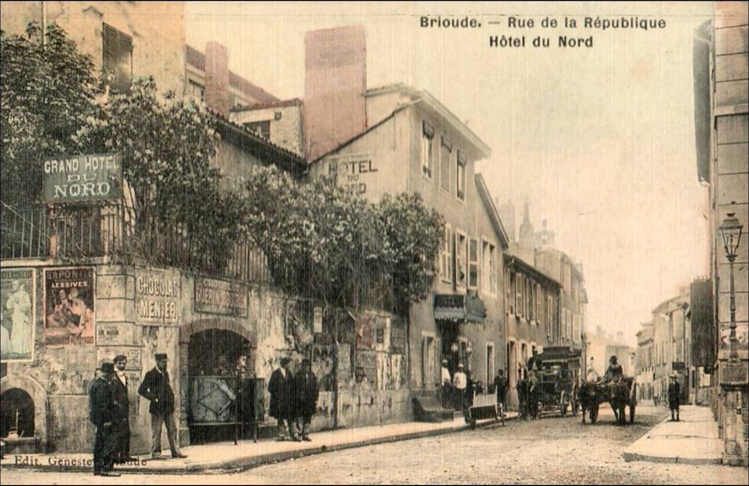 Quelques rues de Brioude d'hier et d'aujourd'hui