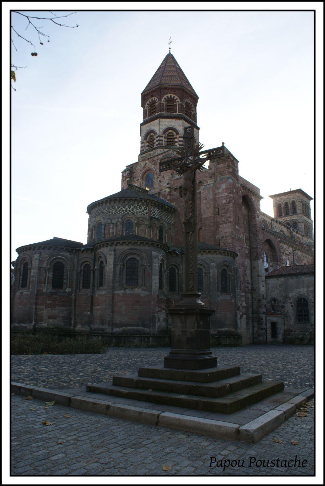 La basilique Saint Julien à Brioude
