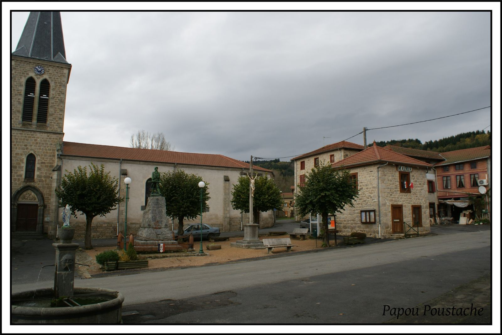 Les villages du Puy de Dome: Grandrif