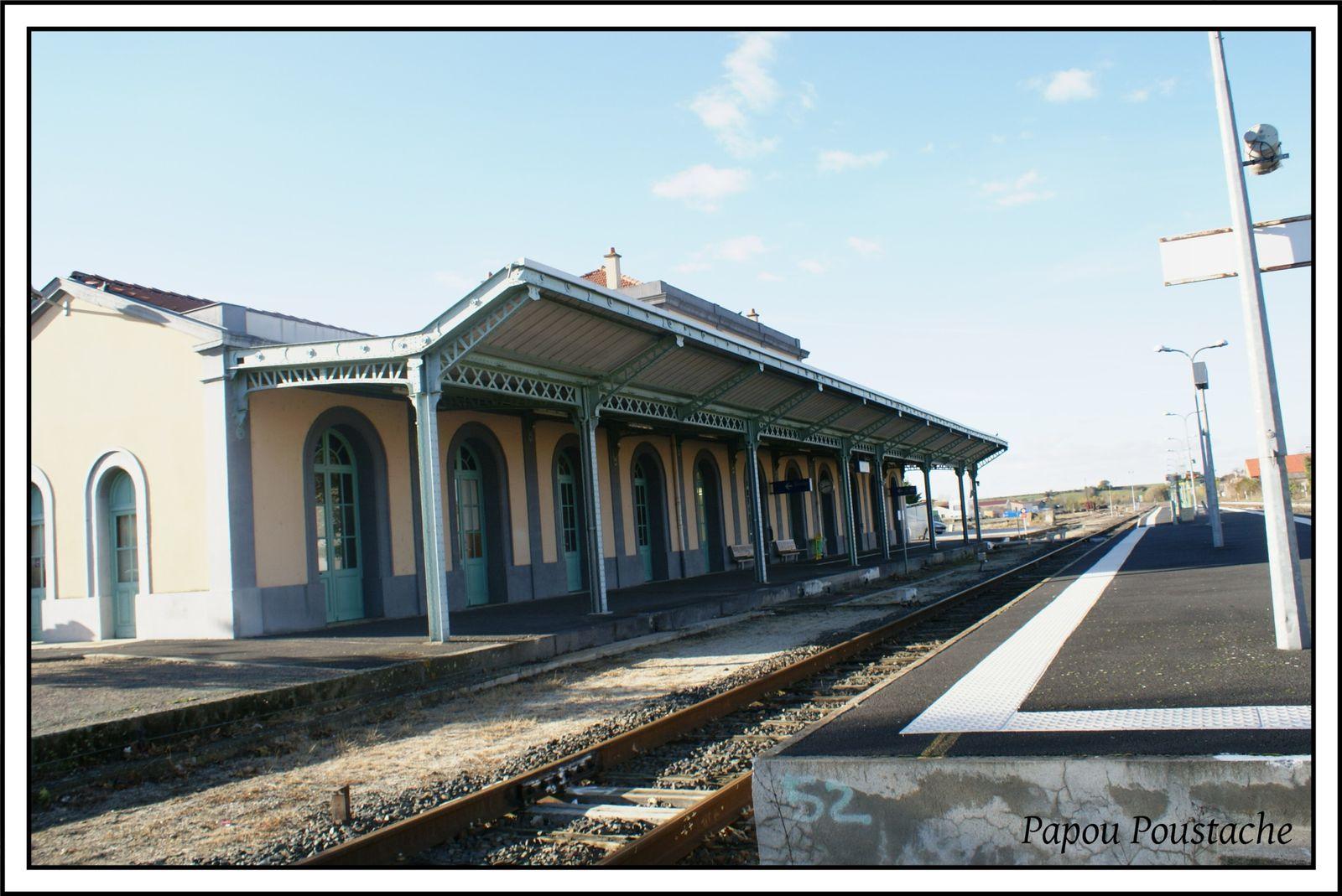 Le quartier de la Gare à Brioude
