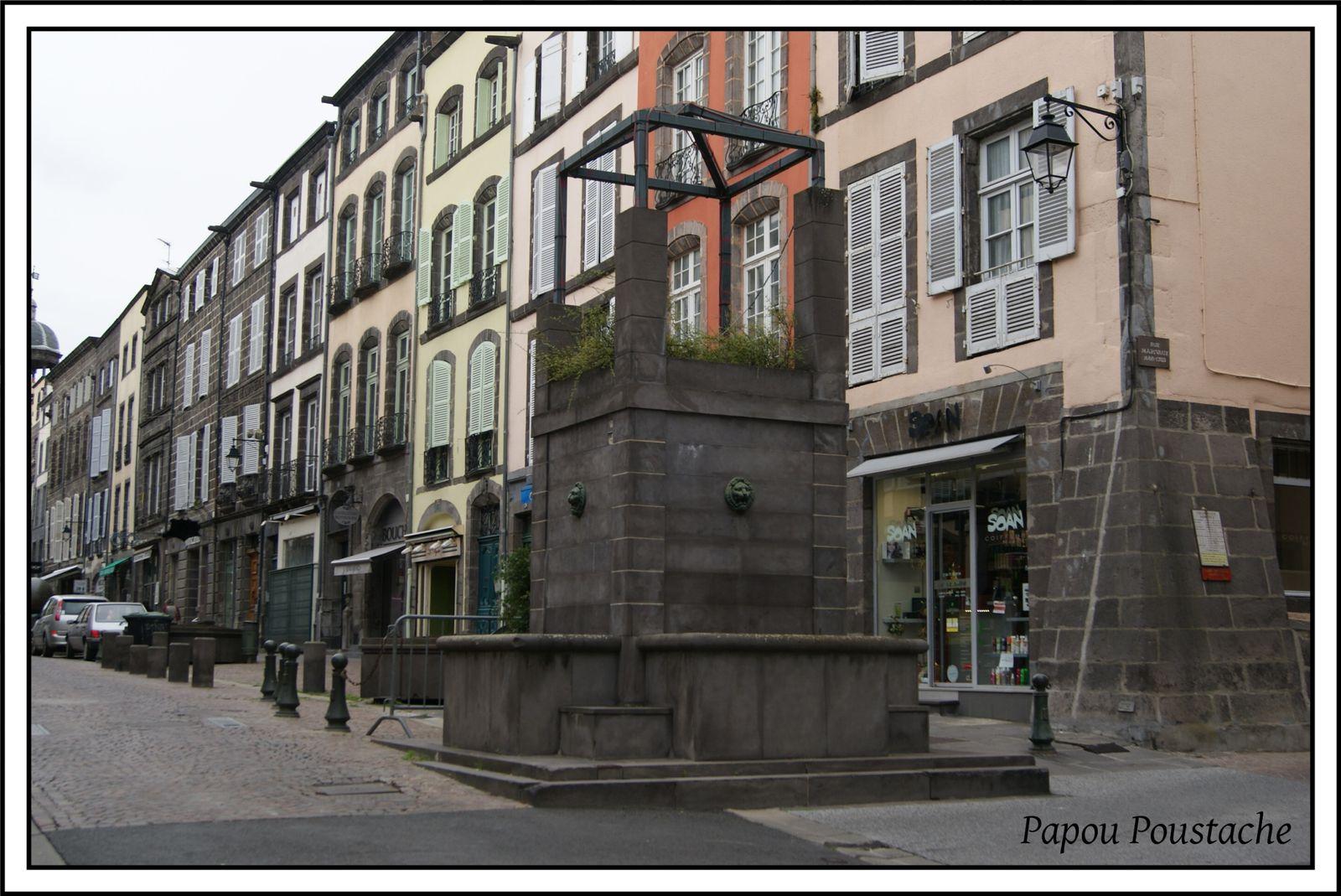 Quelques fontaines à Riom