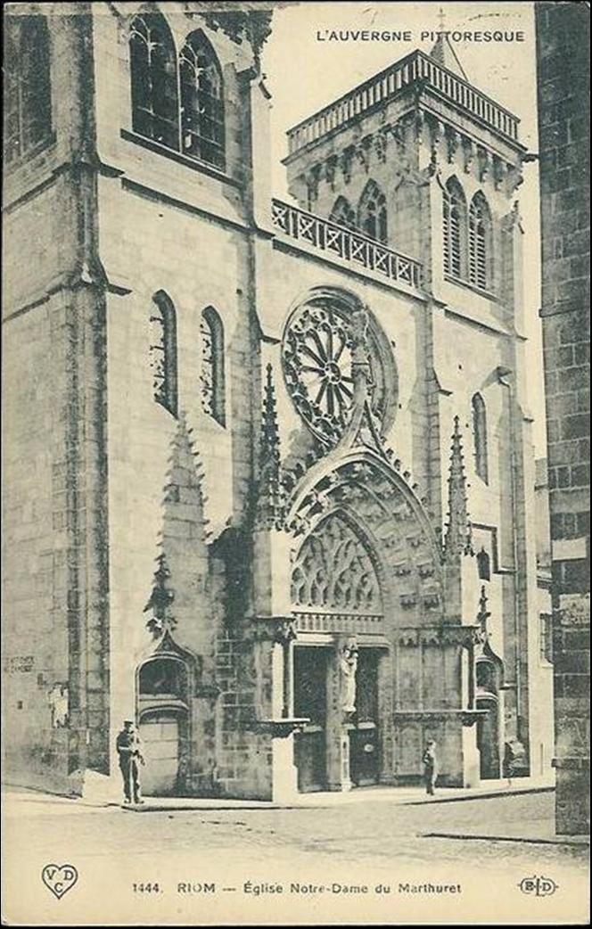 Patrimoine Auvergnat: Eglise St Amable et Marthuret