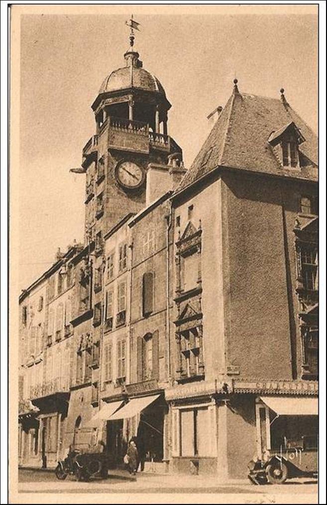Horloge à Riom