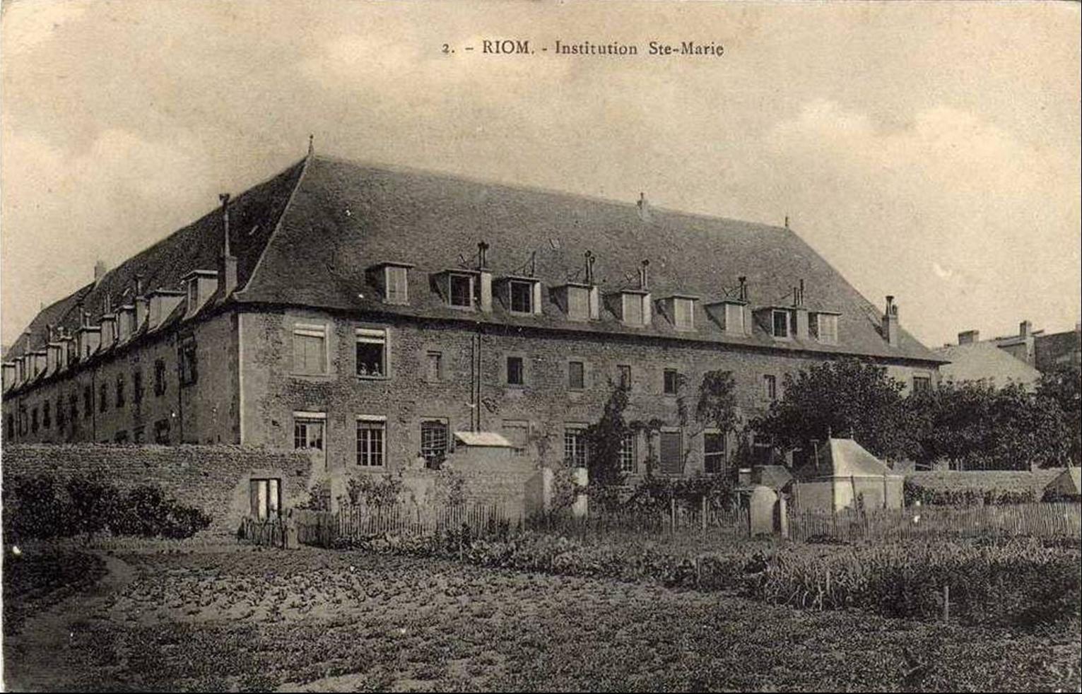 Institution Sainte Marie à Riom