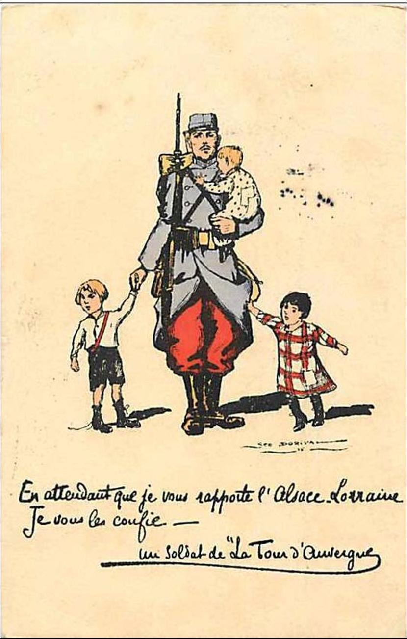 La grande guerre et l'Auvergne
