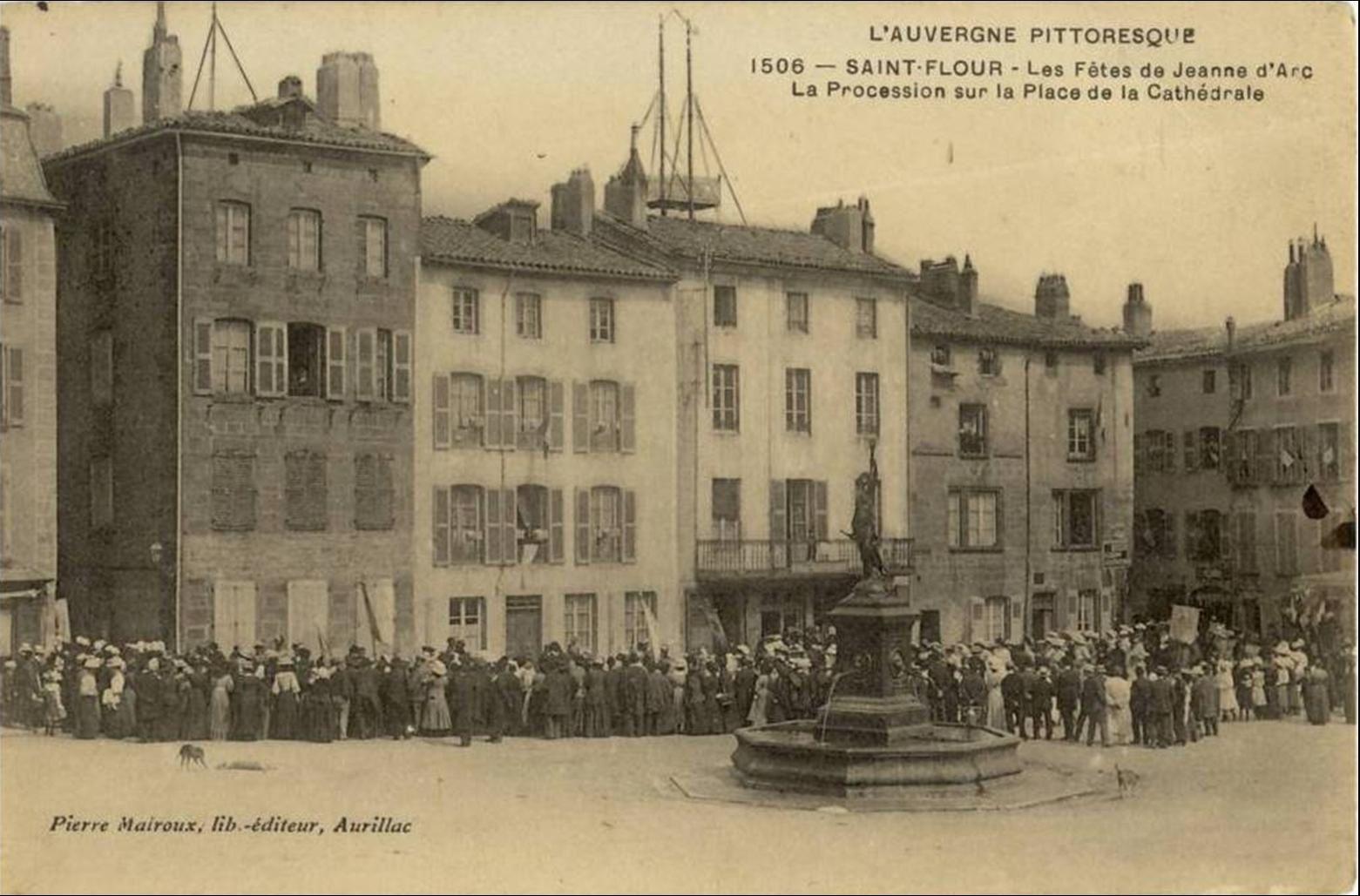 La cathédrale St Pierre à St Flour