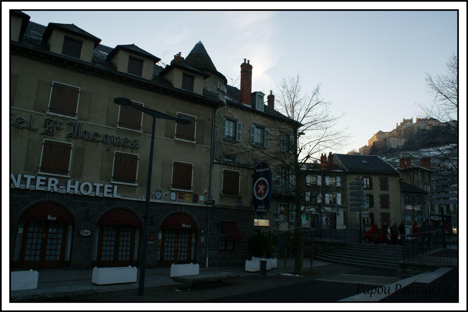 Le bas de la ville de St Flour