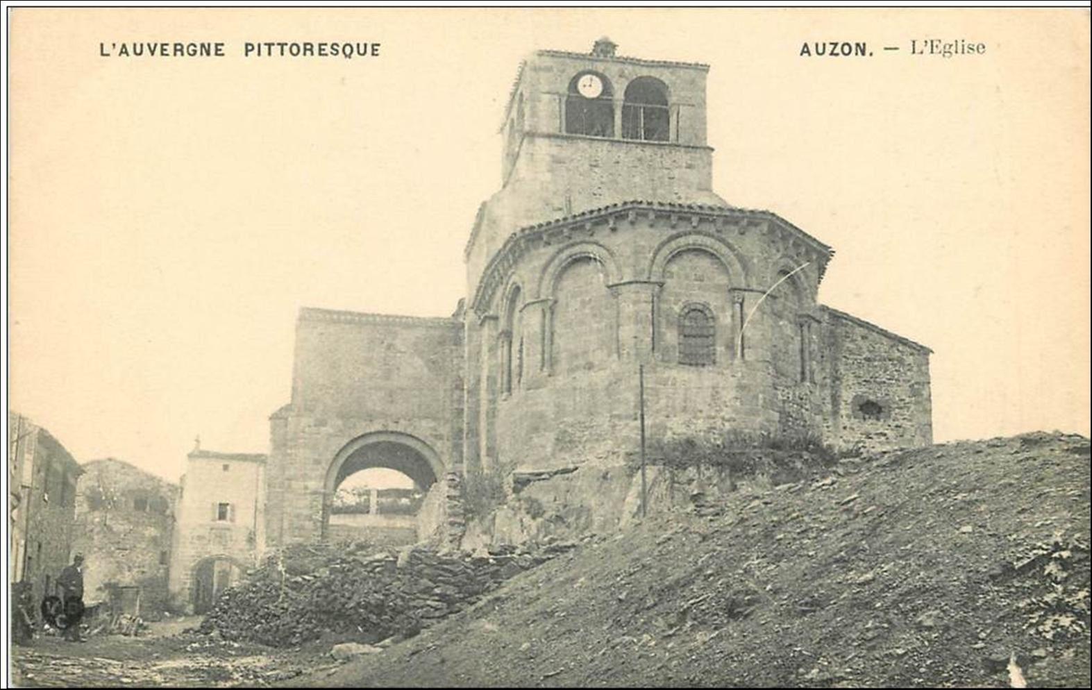 Patrimoine Auvergnat: Eglise St Laurent à Auzon