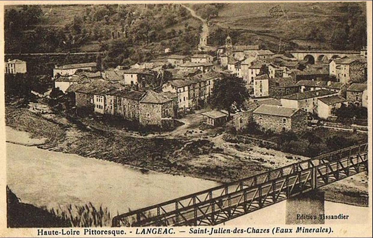 Auvergne:Le pont de Saint Julien des Chazes