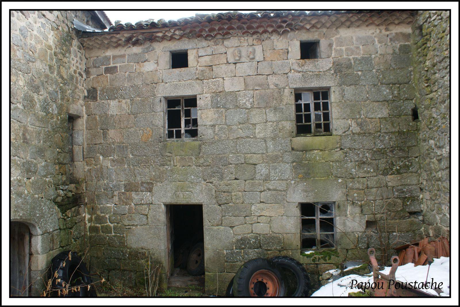 Le village de Charraix en Haute-Loire