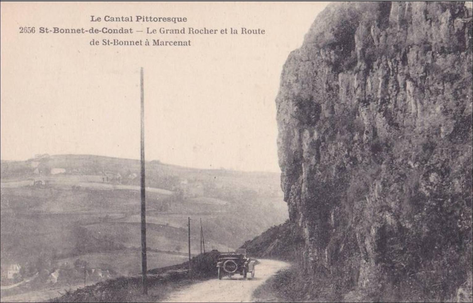 St Bonnet en Condat en cartes postales Anciennes