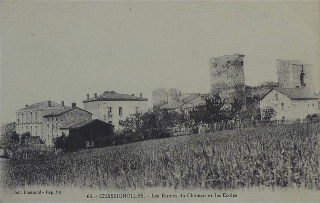 Les villages de Haute-Loire:Chassignolles