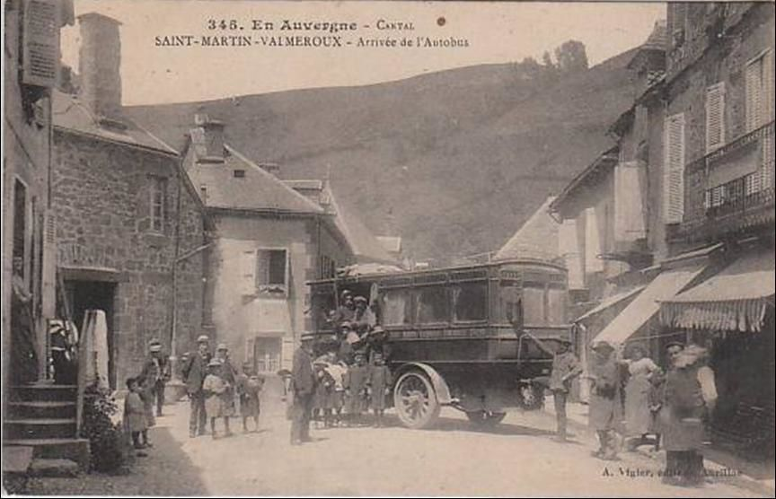 Les villages du Cantal: Saint Martin Valmeroux