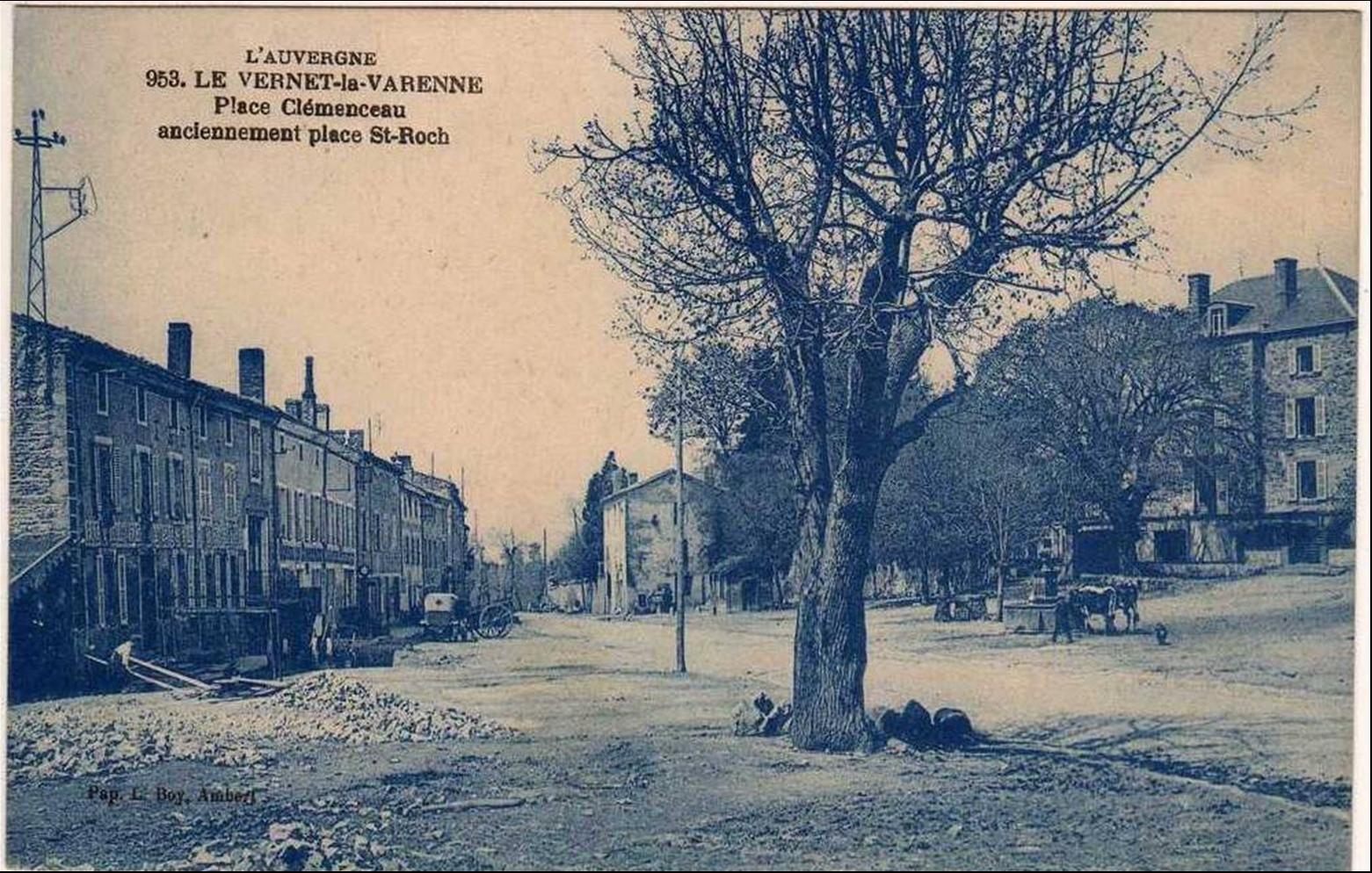 le Vernet en cartes postales anciennes