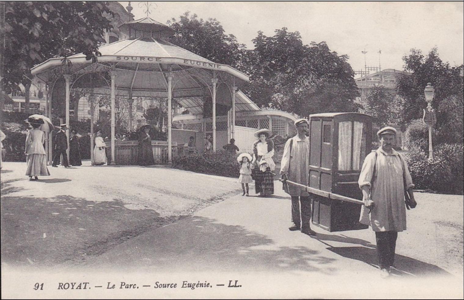 Les sources d'Auvergne :Source Eugénie à Royat