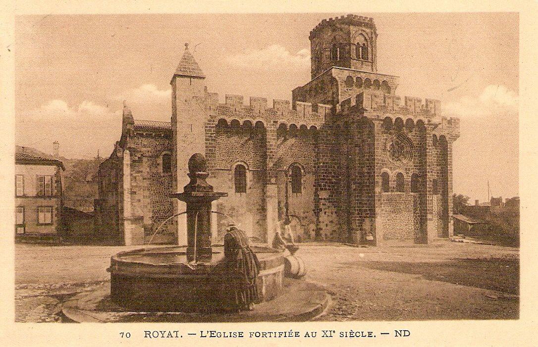 Patrimoine Auvergnat:Eglise de Royat