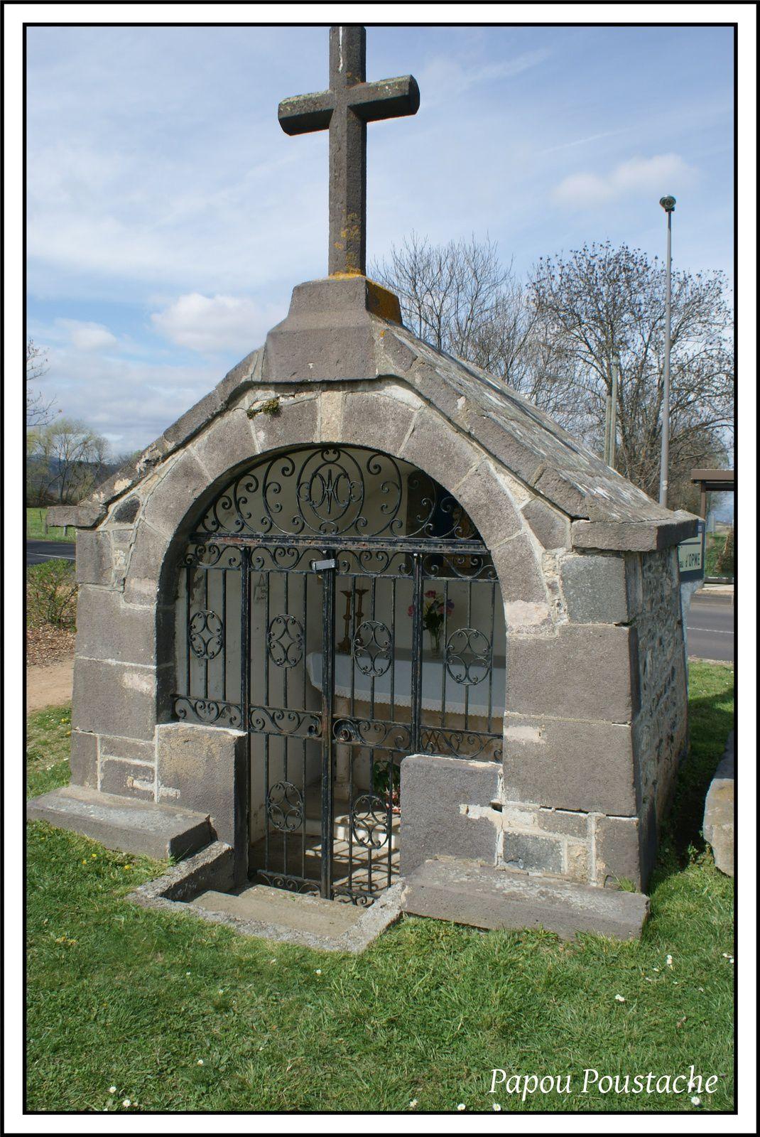 Patrimoine auvergnat:La chapelle d'Opme