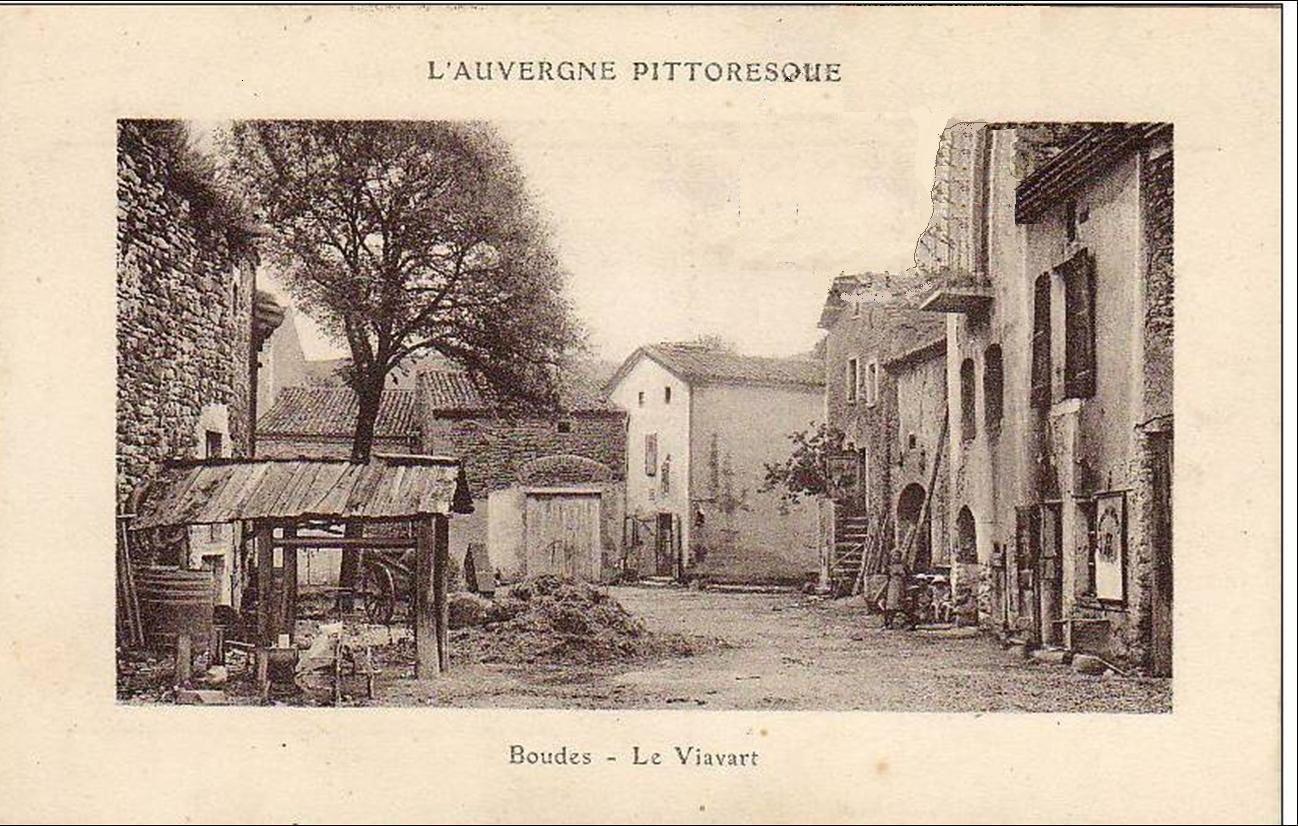 Auvergne d'autrefois:Boudes