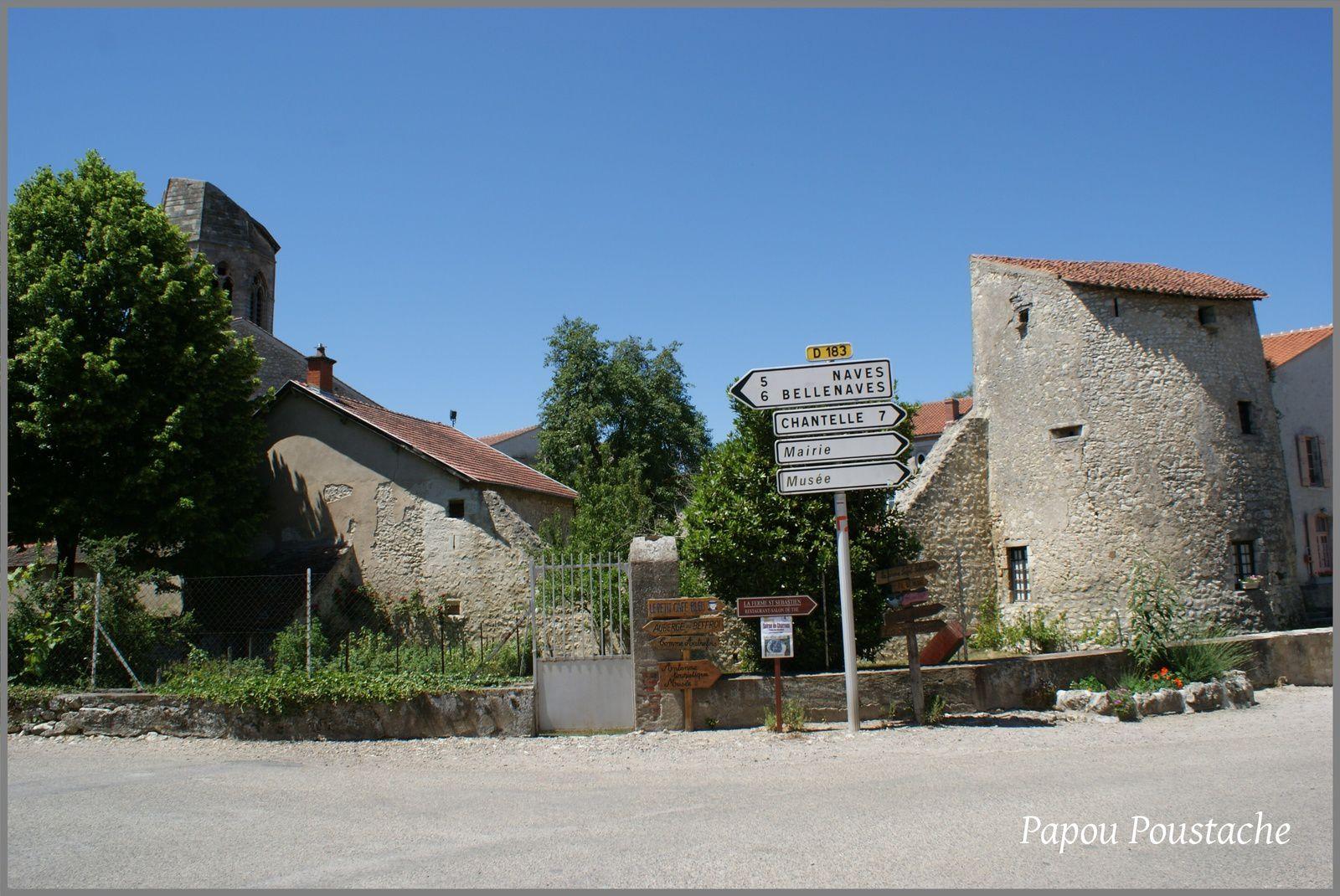 Plus beau village de France:Charroux